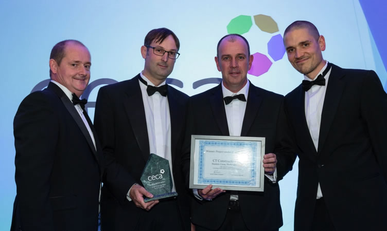 ICE Community Award winnders 2015 - Dove Stone Hydro Scheme