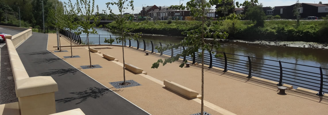 Warrington Flood Defence Scheme