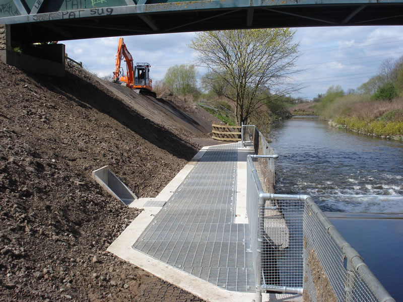 Ashton Fish Pass - completed