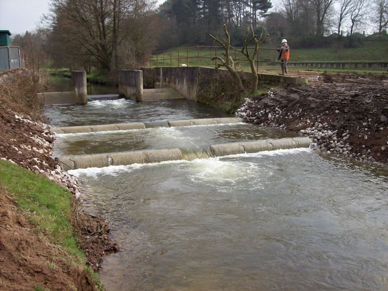Stannylands Fish Pass - completed works