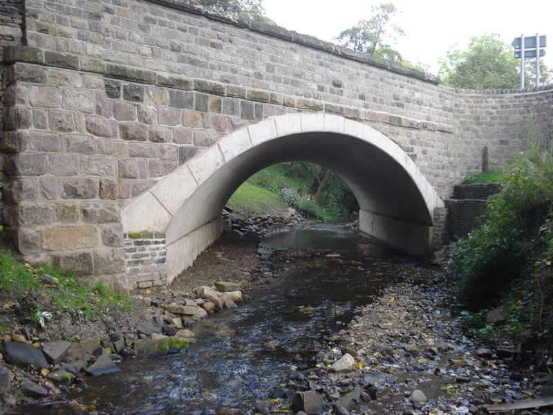 Gurnett Bridge - completed works