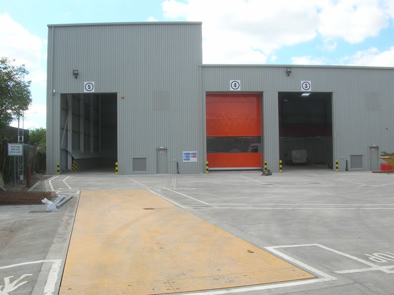 Derby waste transfer station completed